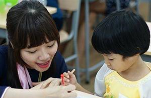 lớp học thử toán tư duy Sakura Soroban chuẩn Nhật tháng 6